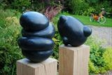Billow & Untitled by Lawrence Dicks, Sculpture