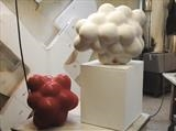 Cluster pieces in studio by Lawrence Dicks, Sculpture